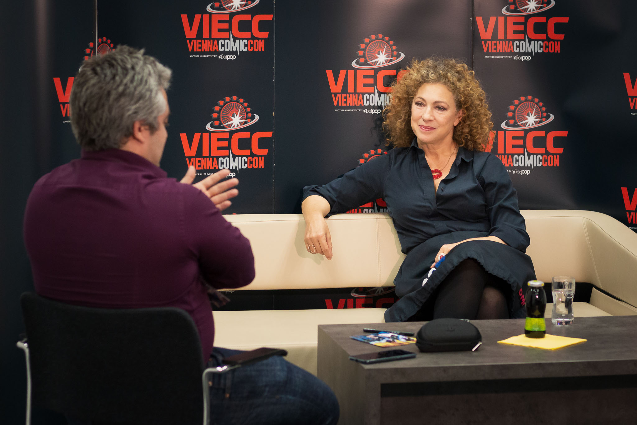 Interview with Alex Kingston on the VIECC 2019