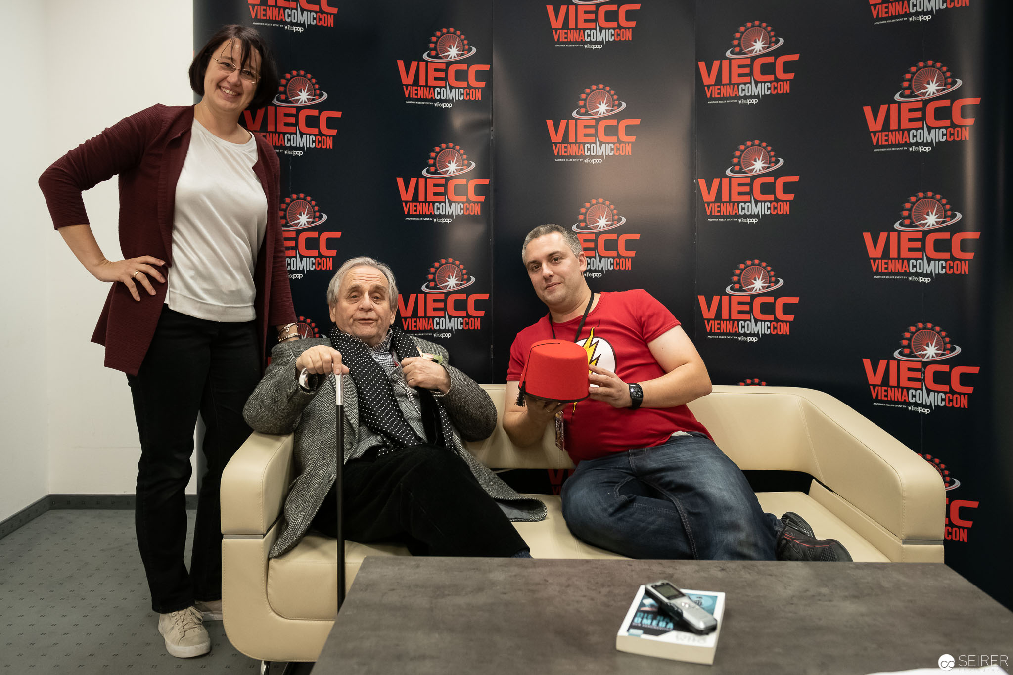 Interview with Sylvester McCoy at the VIECC 2018
