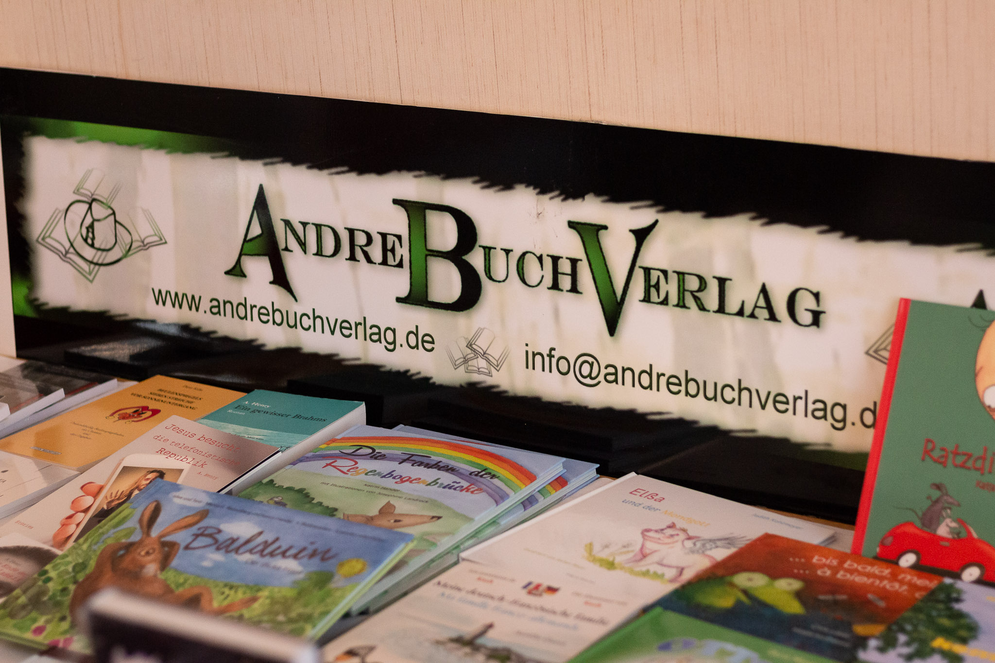 Andere Buchmesse Wien: Andre Buch Verlag