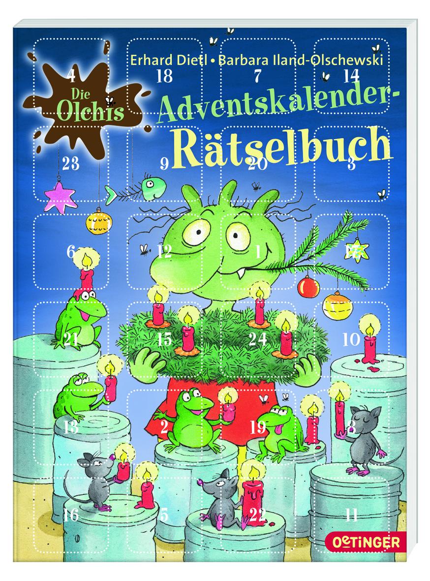 Adventskalender Rätselbuch Von Erhard Dietl Barbara Iland