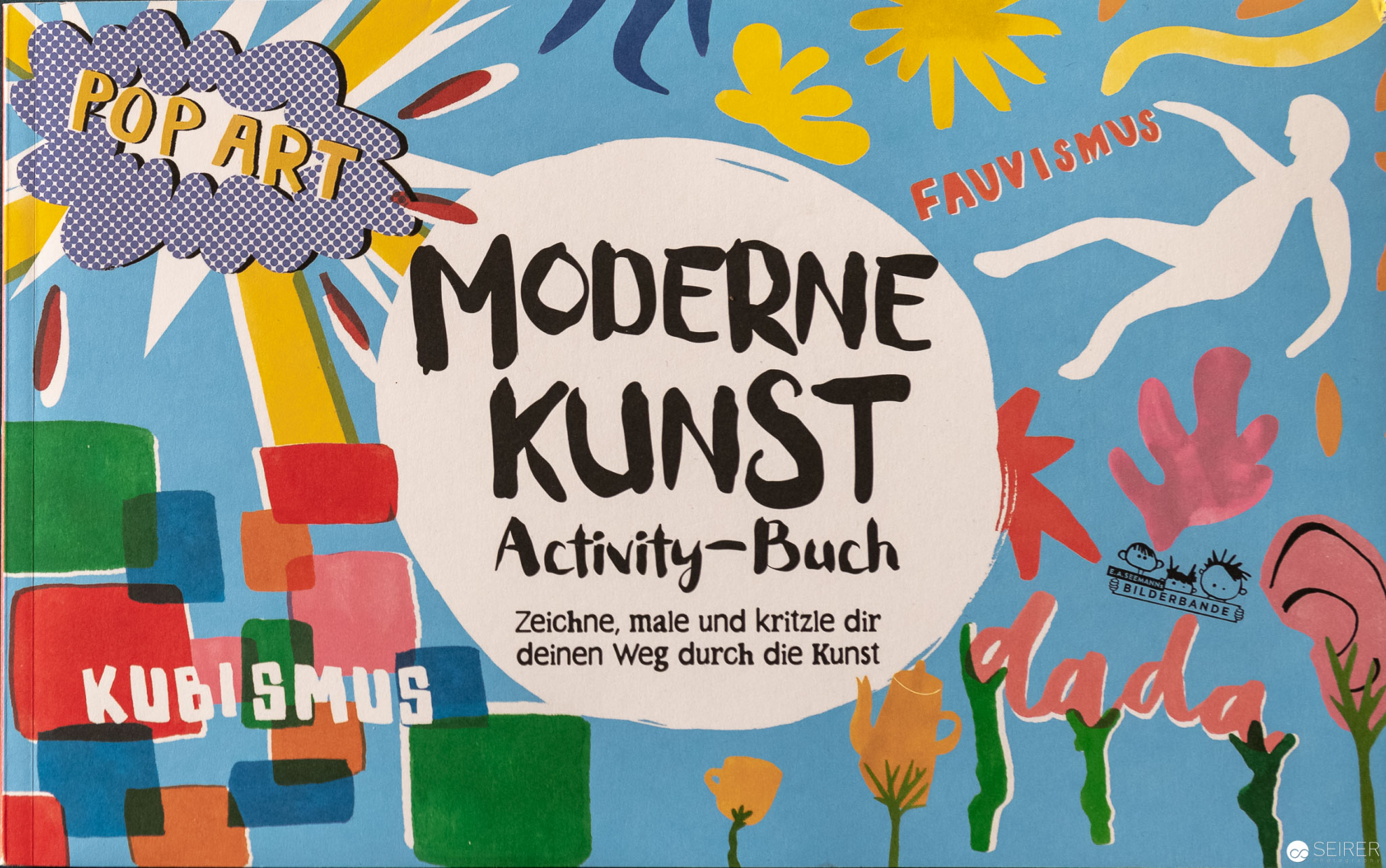 Moderne Kunst Activity Buch