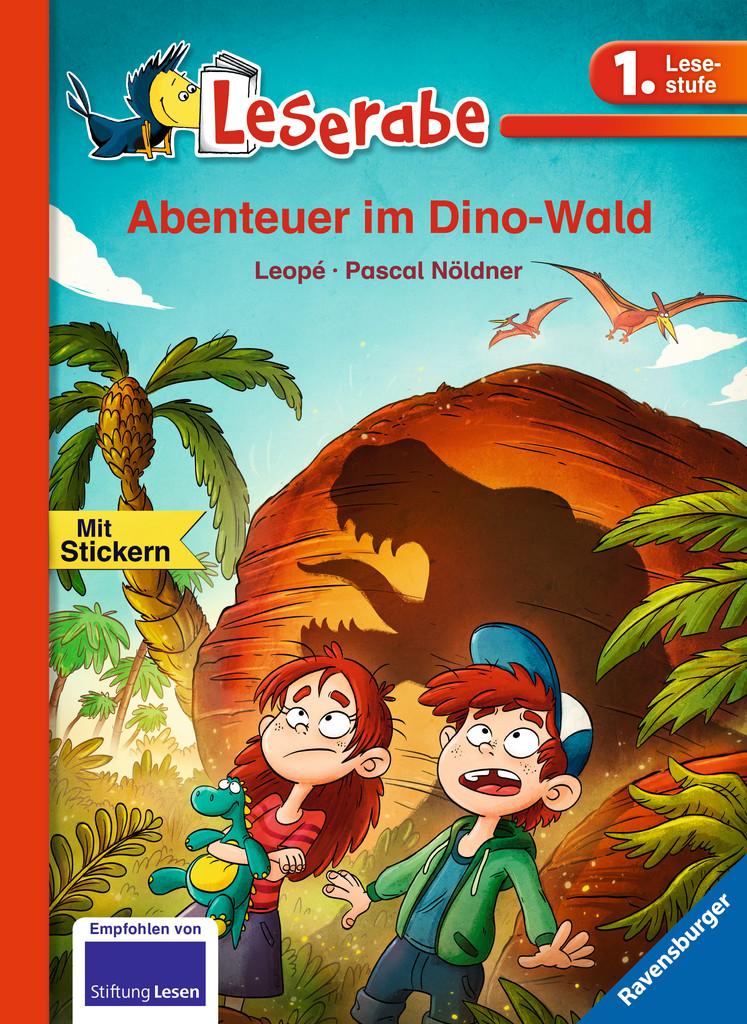 Leserabe: Abenteuer im Dino-Wald
