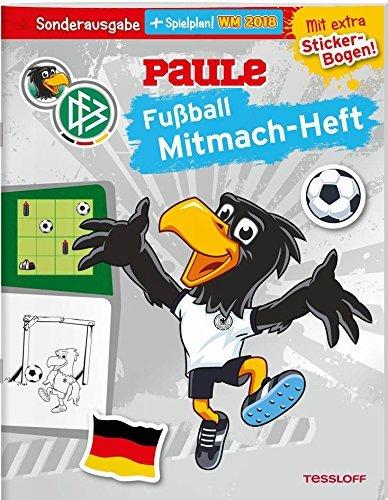 Dfb Paule Fußball Mitmach Heft Von Dirk Hennig