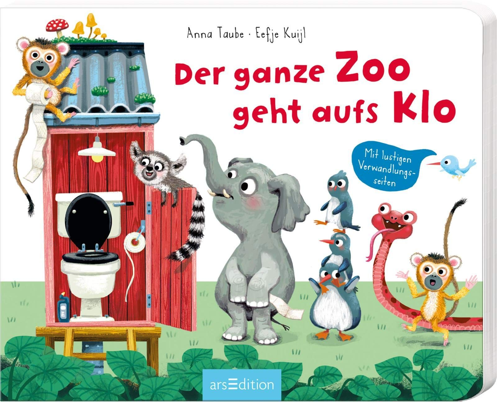 Der ganze Zoo geht aufs Klo