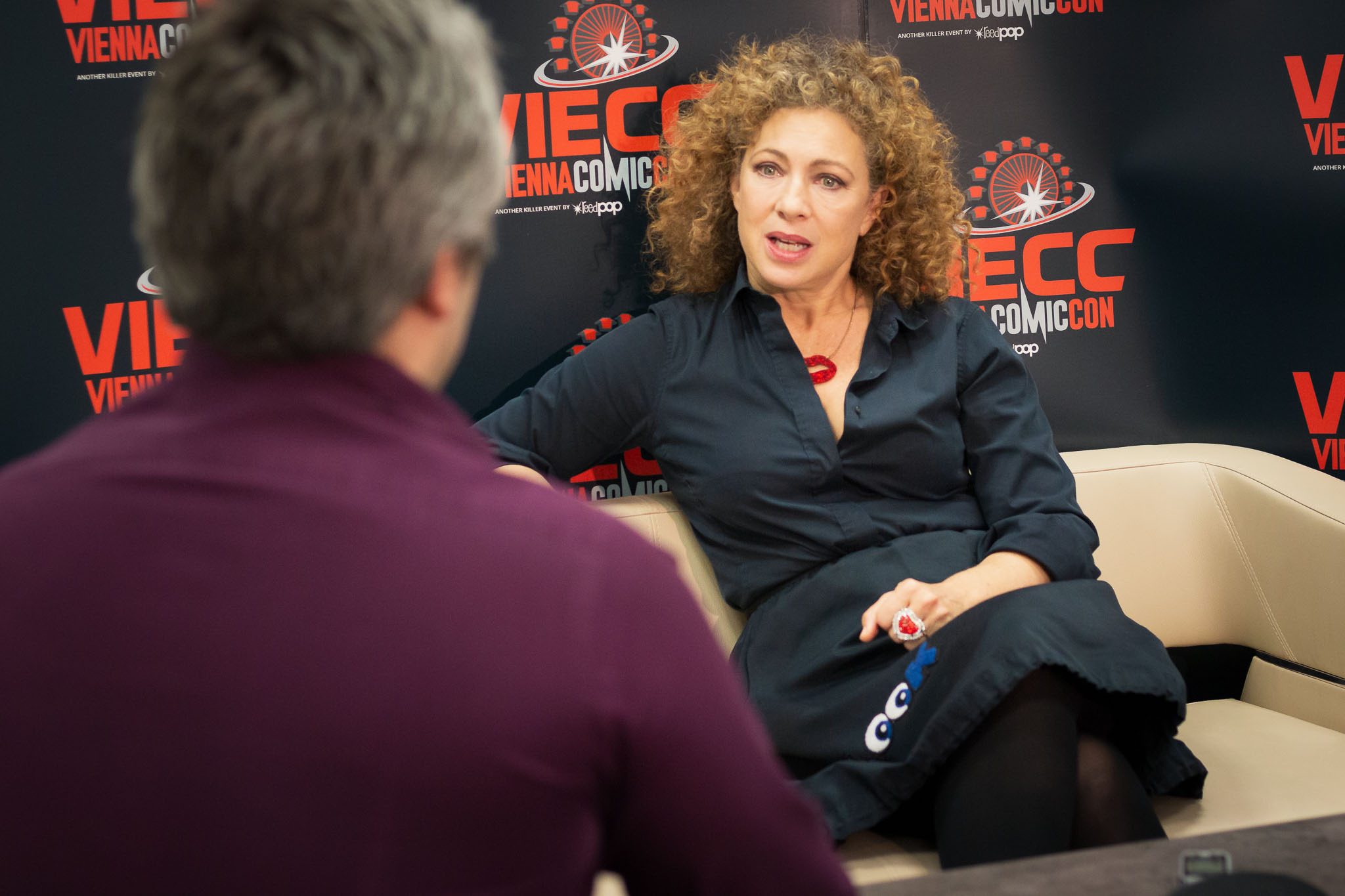 Alex Kingston auf der Vienna Comic Con 2019 VIECC